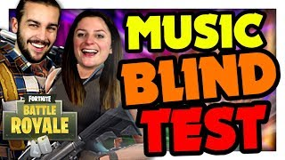 ON BREAKING ON MUSIC QUIZ! BLIND TEST FORTNITE DUO EN