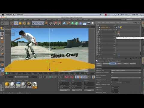 Using After Effects with CINEMA 4D
