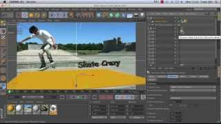 How to make a Cascading Text Animation with With Cinema 4D and After Effects - Part 1