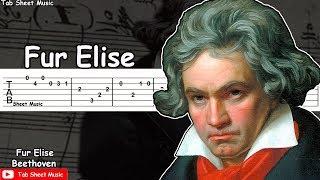 Beethoven - Fur Elise Guitar Tutorial