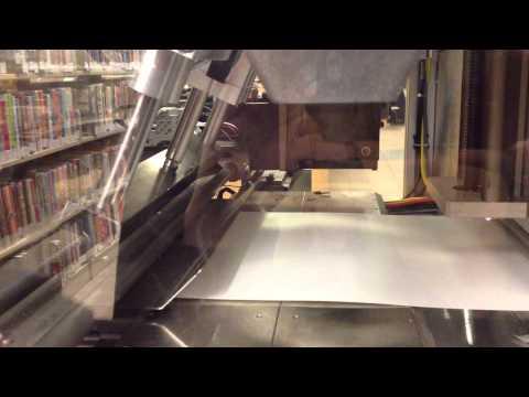6 minutes to print a book, Espresso Book Machine, Darien Library