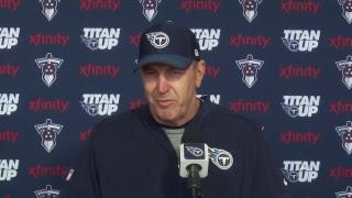 Titans Head Coach Mike Mularkey Press Conference | #TENvsKC