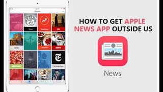 Gambar cover How To Get Apple News App Outside US