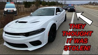 I GOT PULLED OVER IN MY 2020 CHARGER HELLCAT WIDEBODY *BUSTED*