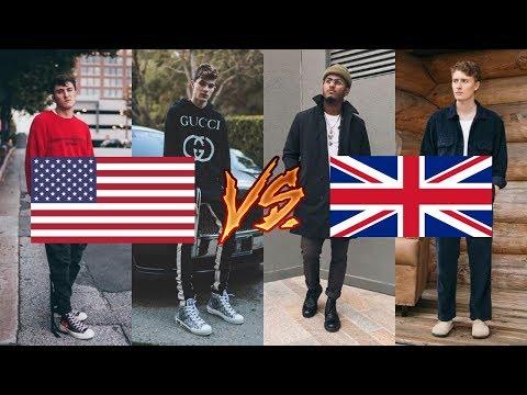 American VS UK Fashion