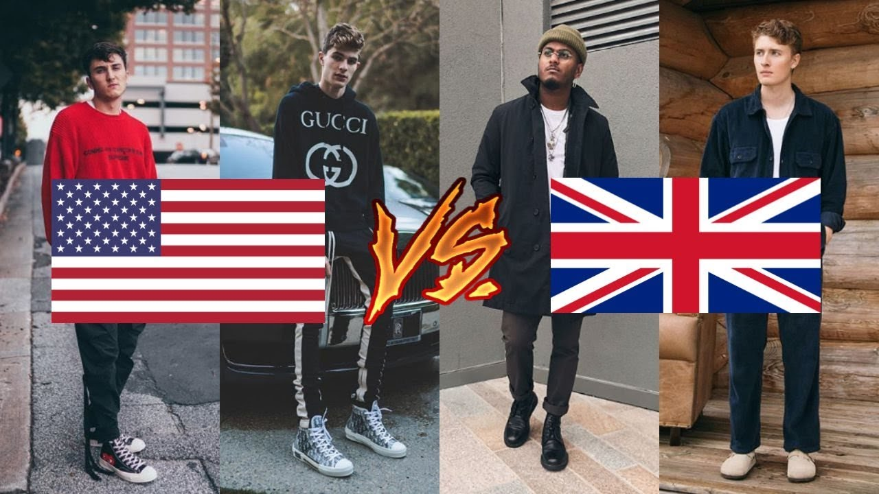 American VS UK Fashion