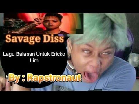 Balasan Lagu Ericko Lim Dari Reza Arap - Savage Diss.