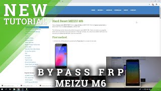 How to Bypass Screen Lock in MEIZU | Remove Password in MEIZU M6 / M5s / M2 Note | Hard Reset