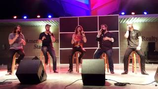 "Home Free  ""Thinking Out Loud/Let's Get It On""  Iowa State Fair"
