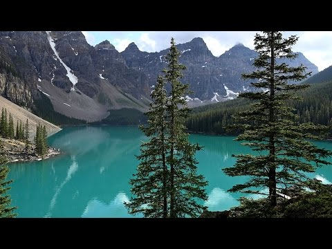 Lake Louise & Moraine Lake,  Banff NP, Canada in 4K (Ultra HD)
