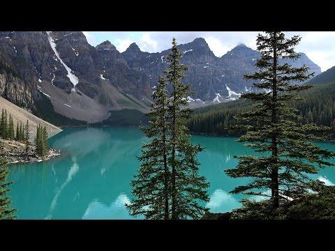 Lake Louise & Moraine Lake,  Banff NP, Canada in 4K (Ultra HD)