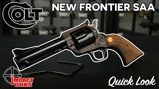 Colt New Frontier Single Action Army [QUICK LOOK]
