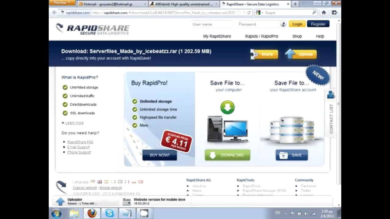 [How To ] Download in Premium for many sites for free