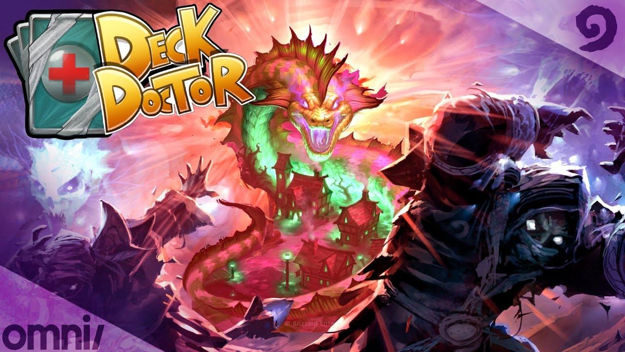 witchwood deck doctor w firebat odd dragon priest