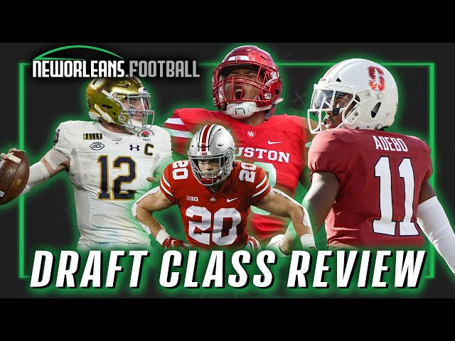 Reviewing the Saints' draft  | NewOrleans.Football