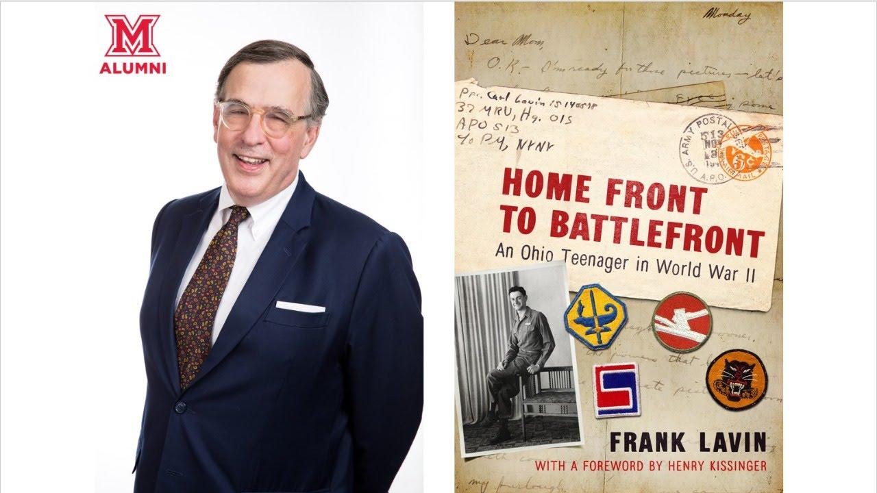 Image for Miami Presents: Miami in World War II: The Carl Lavin Story webinar
