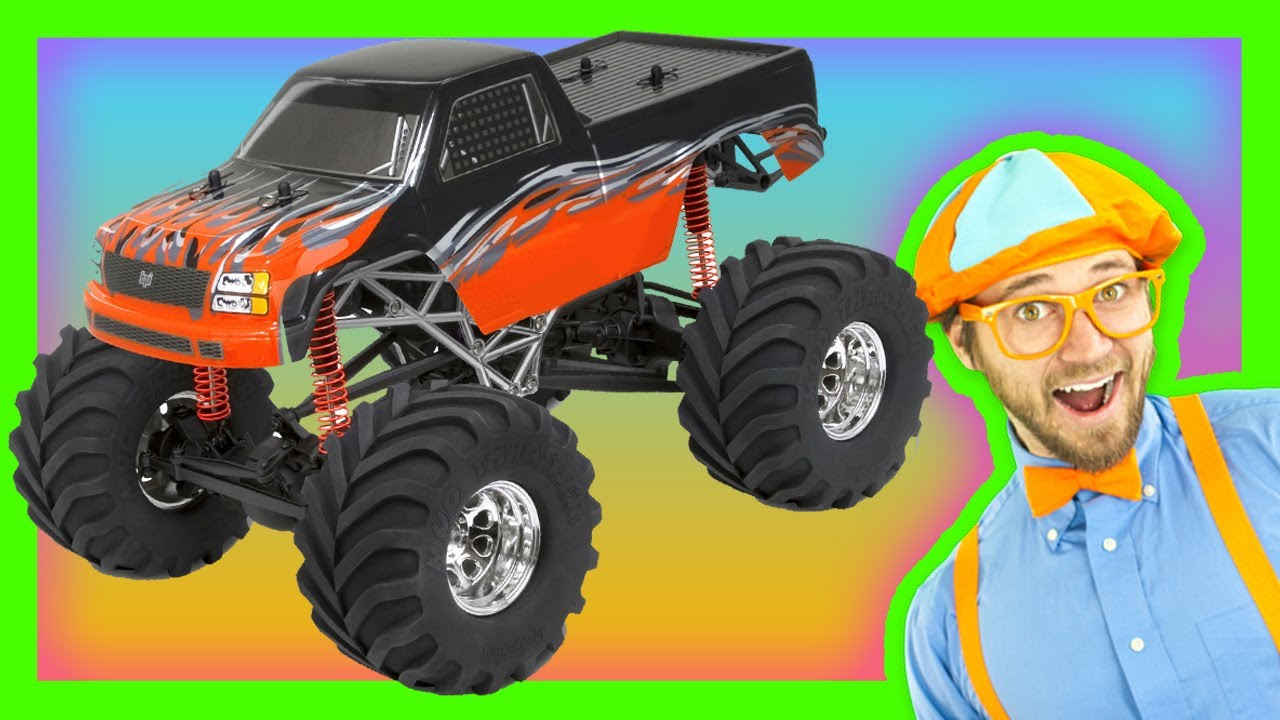 monster trucks for kids learn numbers and colors youtube. Black Bedroom Furniture Sets. Home Design Ideas