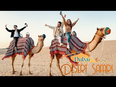 Dubai Desert Safari 2020 | RED SAND DUNE BASHING, CAMEL RIDE, TANOURA DANCE, FIRE DANCE, BBQ DINNER