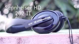 sennheiser HD 202 II Headphone TeamRohans Review!