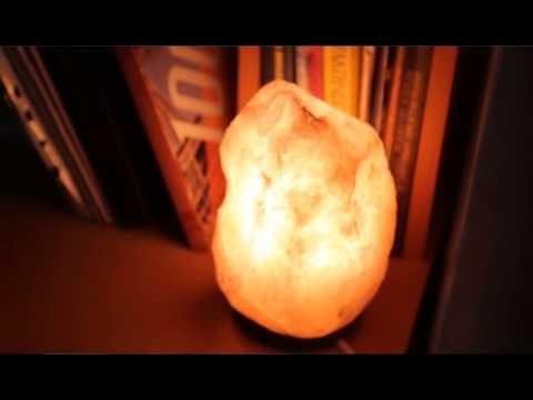 Солевая) Соляная лампа Скала 2-3 кг. - YouTube