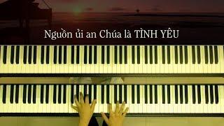 Con Tin Chúa Ơi (St: L.M. Duy Thiên) - Piano and Keyboard - Arranged by: Linh Nhi