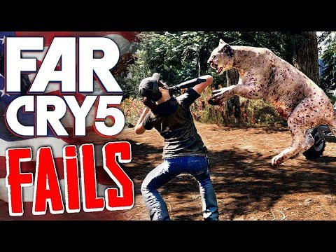 Far Cry 5 COOP Fails & Funny Moments (Planes, Helicopters & Hunting) Multiplayer Gameplay