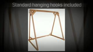All Things Cedar A-frame Red Cedar Swing Stand - Af72u, Af90