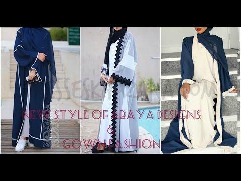 aaaf0efbd103b Abaya Designs 2017   Gown Fashion for Girls - Latest Abaya Styles ...