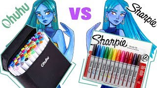 Ohuhu Marker Vs Sharpie markers | I CAN'T CHOOSE!!