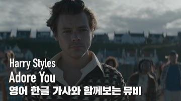 [한글자막뮤비] Harry Styles - Adore You