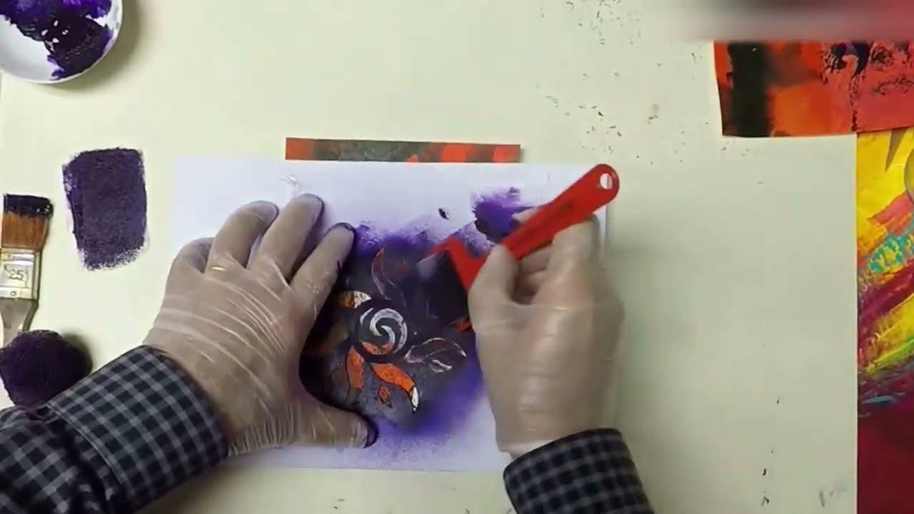 Cours beaux arts astuces et techniques pour peindre au for Pochoir technique