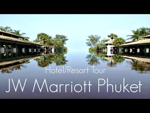 Hotel/Resort Tour & Review-JW Marriott Phuket