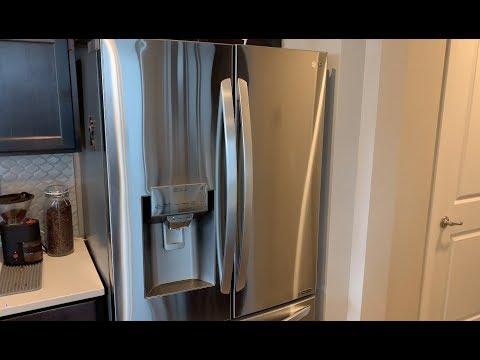 LG French Door Counter Depth Refrigerator 2019