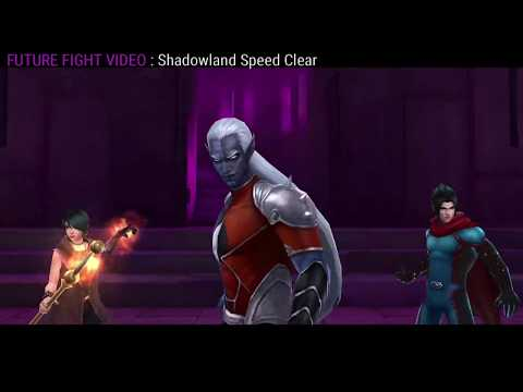 Shadowland Floors 1 - 30 clear  in under 10 minutes  - Marvel Future Fight