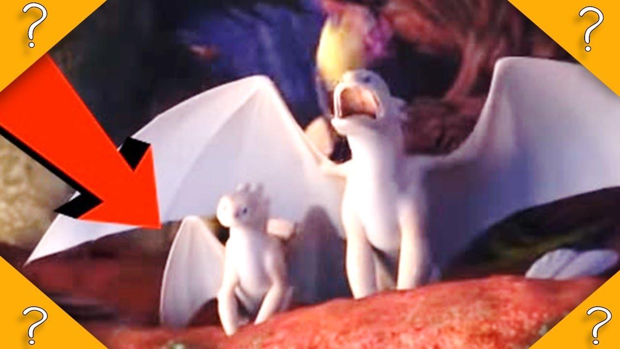 Baby LIGHT FURY in NEW HTTYD Trailer