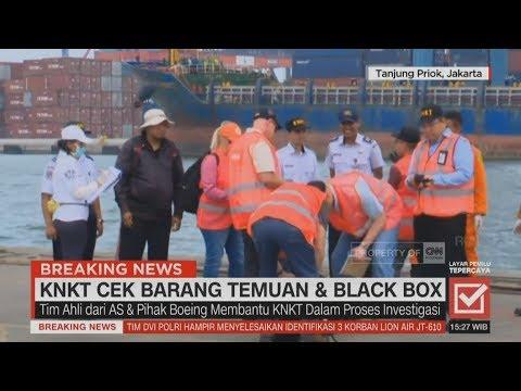 KNKT Cek Barang Temuan & Black Box; Pasca-Kedatangan Pihak Boeing & KNKT Mp3