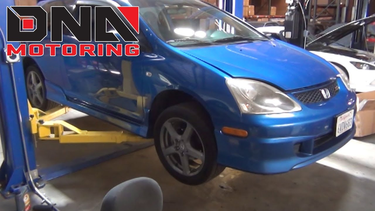 hight resolution of how to install 02 05 honda civic si ep3 catback exhaust