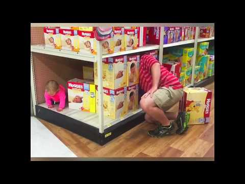 funny videos | These are what babies do at the supermarket | Babies Funny