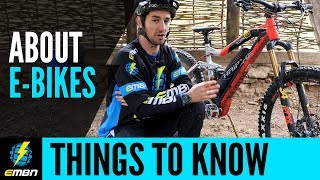 7 Things You May Not Know About E Mountain Bikes