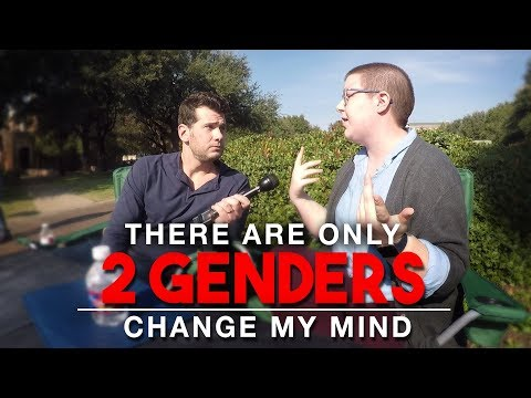 REAL CONVERSATIONS: There Are Only 2 Genders | Change My Min
