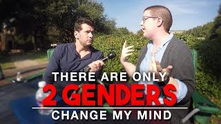 REAL CONVERSATIONS: There Are Only 2 Genders | Change My Mind thumbnail