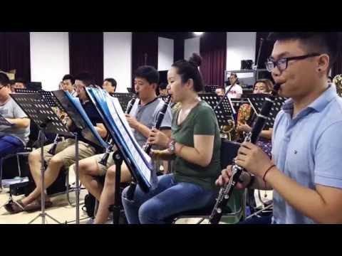 """DSWO """"Latin Tuba"""" by Mario Bürki  , Tuba: Jesus Navas"""