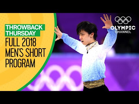 Full Men's Figure Skating Short Program | PyeongChang 2018 | Throwback Thursday