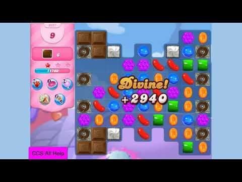 Candy Crush Saga Level 3227 18 moves NO BOOSTERS Cookie