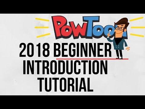Powtoon Introduction 2018 - Create Animated Videos Simply