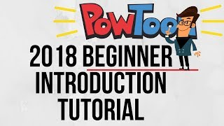 Powtoon Introduction 2018 - Create Animated Videos Simply