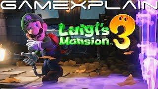 More Luigi's Mansion 3 Gameplay:  Garden Suites (DIRECT FEED w/ Full Sound!)