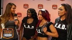 "Lita and Team B.A.D. talk ""scared deer"": WWE Tough Enough Digital Extra, July 28, 2015"