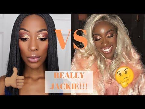 JACKIE AINA, Really?!?! Poppin Peach Recreated | Fall Eyeshadow Glam