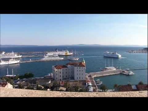 HD Time Lapse - Split Harbor - Croatia 1080p HD